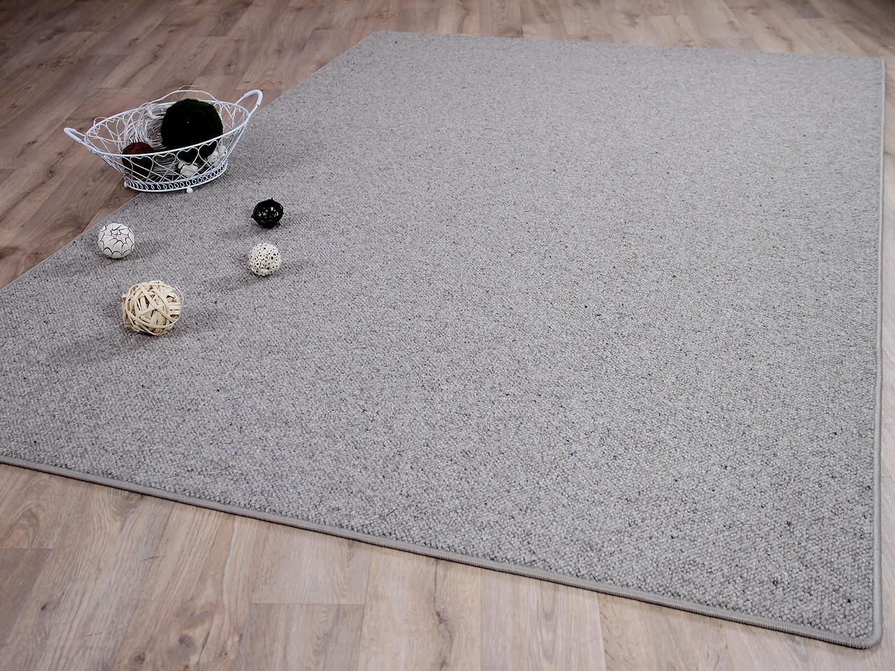 natur teppich wolle berber grau meliert in 24 gr en ebay. Black Bedroom Furniture Sets. Home Design Ideas