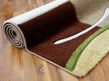Teppich braun grün  Designer Teppich Maui Braun Grün Karo in 5 Größen | eBay