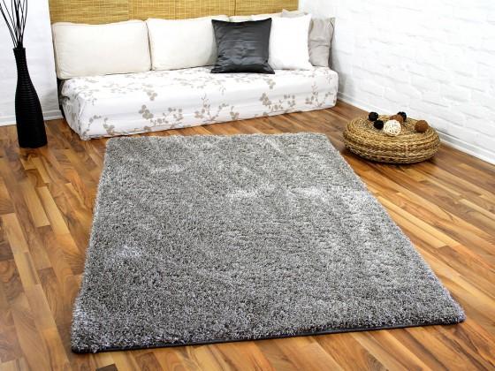 hochflor langflor shaggy teppiche in schwarz grau und anthrazit. Black Bedroom Furniture Sets. Home Design Ideas