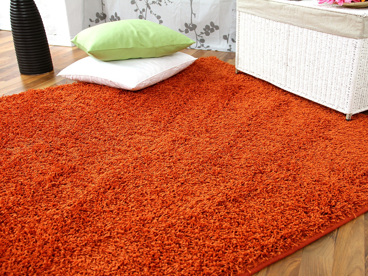 hochflor langflor teppich shaggy nova orange sonderaktion sonderposten hochflor langflor. Black Bedroom Furniture Sets. Home Design Ideas