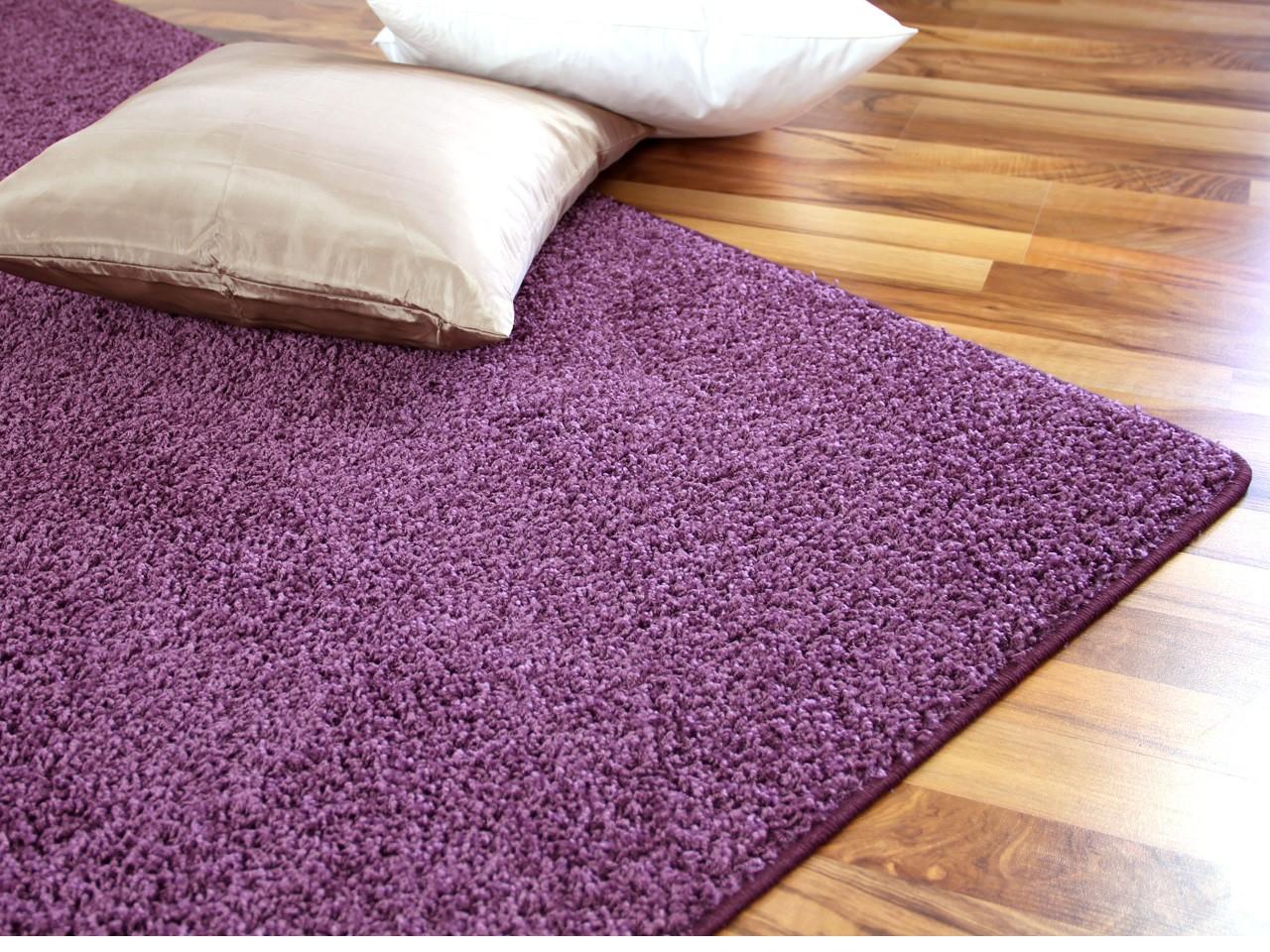 teppich grau flieder artownit for. Black Bedroom Furniture Sets. Home Design Ideas