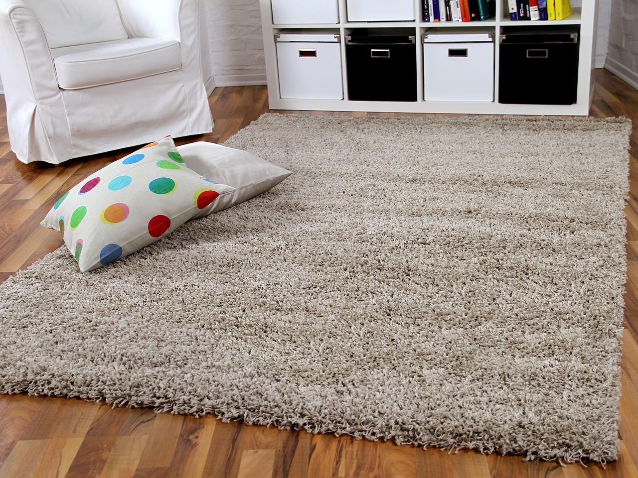 hochflor langflor shaggy teppich aloha beige teppiche. Black Bedroom Furniture Sets. Home Design Ideas