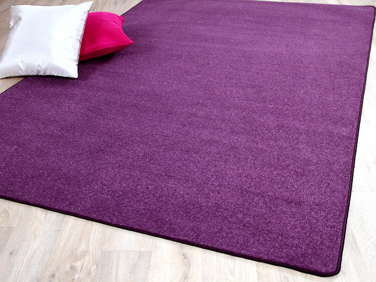 trend velours teppich joy lila sonderaktion teppiche veloursteppiche trend velours joy. Black Bedroom Furniture Sets. Home Design Ideas