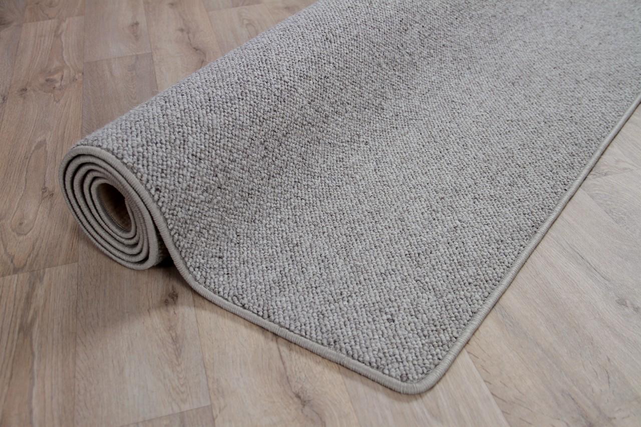 natur teppich wolle berber grau meliert in 24 gr en teppiche sisal und naturteppiche berber. Black Bedroom Furniture Sets. Home Design Ideas