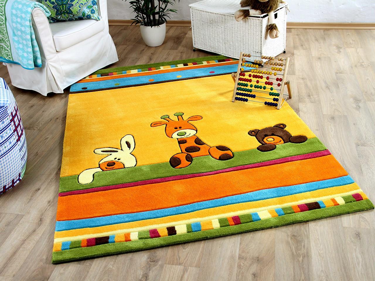 Lifestyle Kinderteppich Giraffe Gelb !!! Sofort Lieferbar