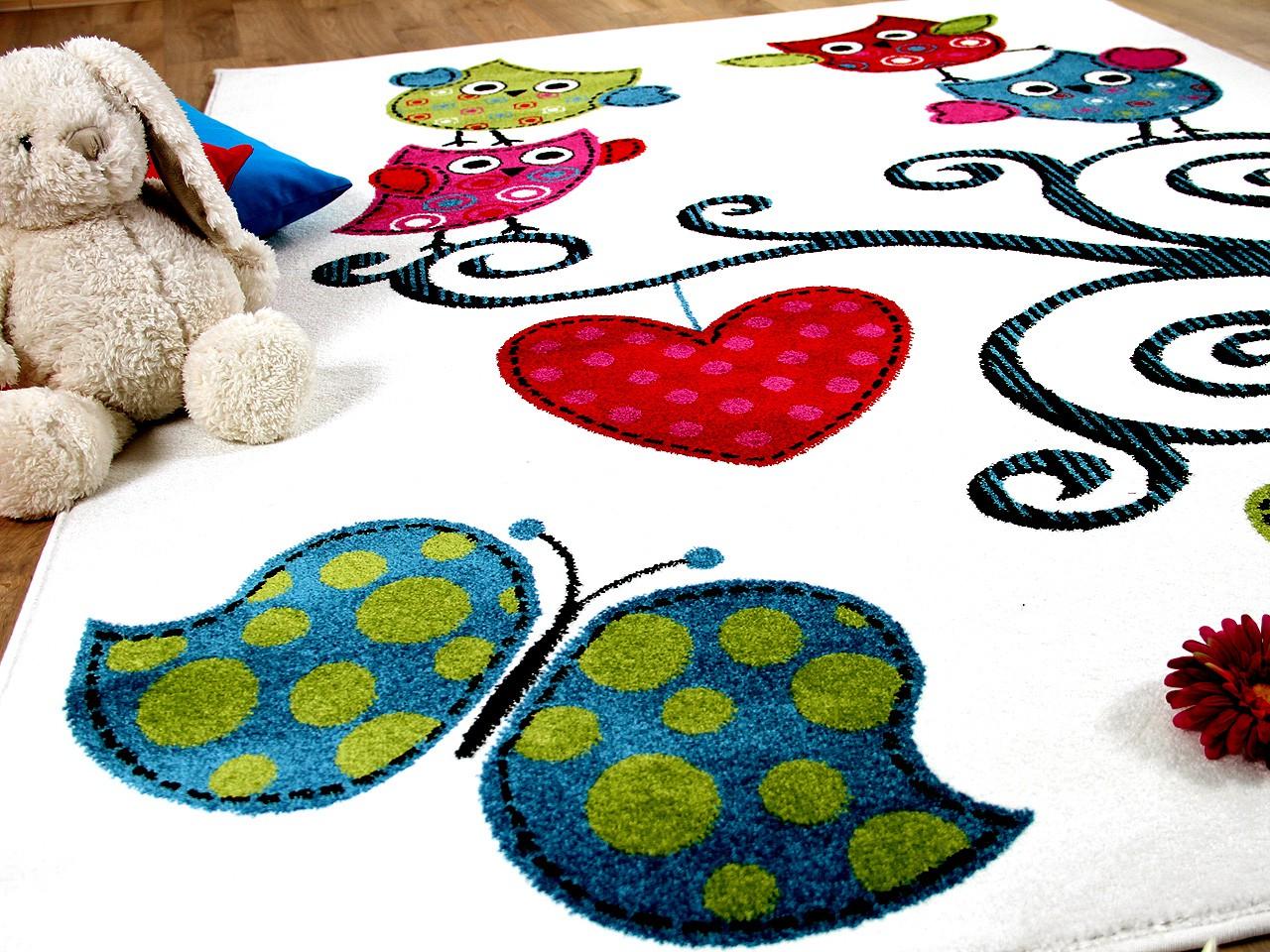 teppich fantasy kids eulen creme in 3 gr en teppiche kinder und spielteppiche fantasy kids. Black Bedroom Furniture Sets. Home Design Ideas