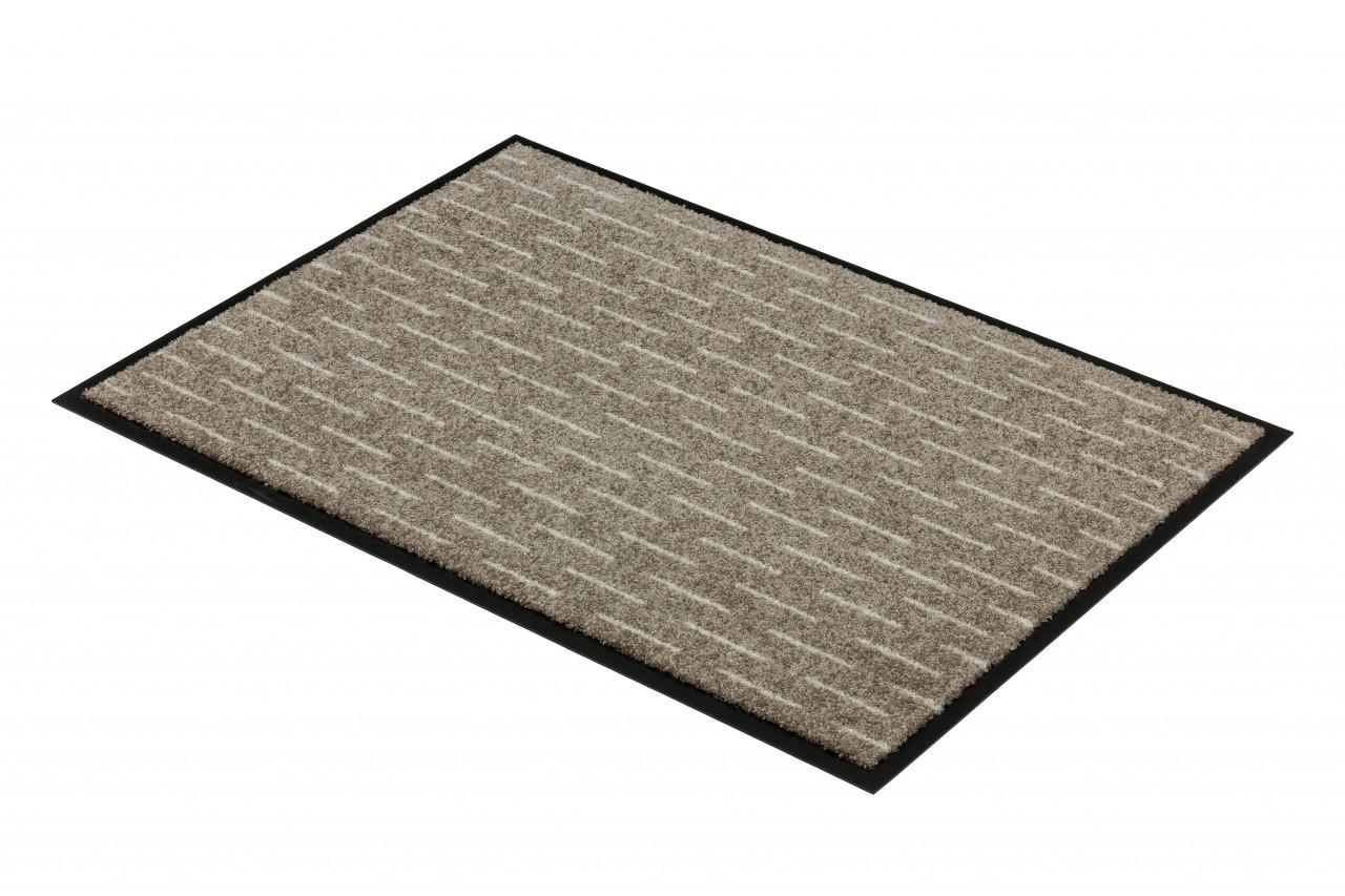 fu matte sch ner wohnen broadway striche beige sonderangebot sonderposten fu matten sonderposten. Black Bedroom Furniture Sets. Home Design Ideas