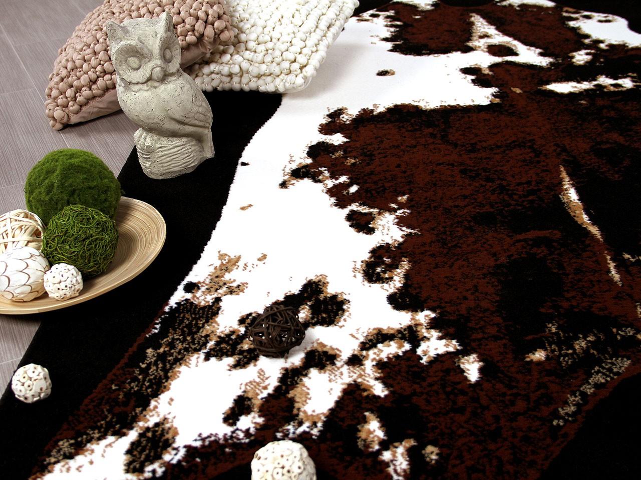 designer teppich safari rinderfell teppiche designerteppiche safari teppiche. Black Bedroom Furniture Sets. Home Design Ideas