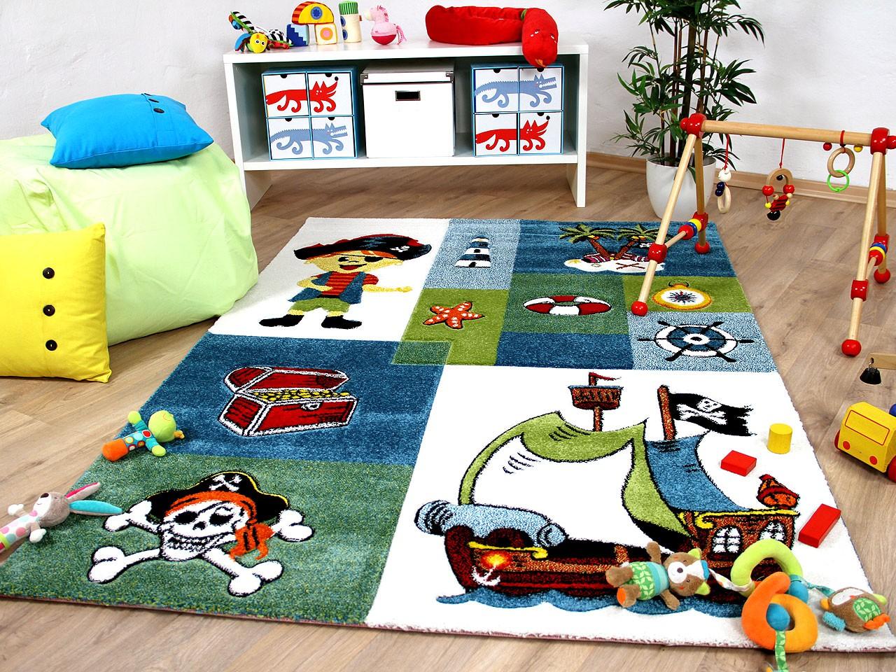 Kinder Teppich Maui Kids Pirat Teppiche Kinder und