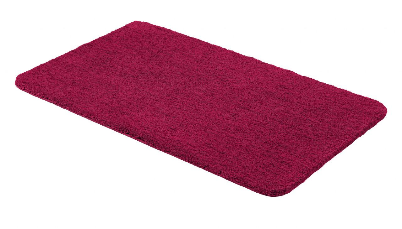 sch ner wohnen badteppich santorin uni rot badteppiche sch ner wohnen badteppiche. Black Bedroom Furniture Sets. Home Design Ideas