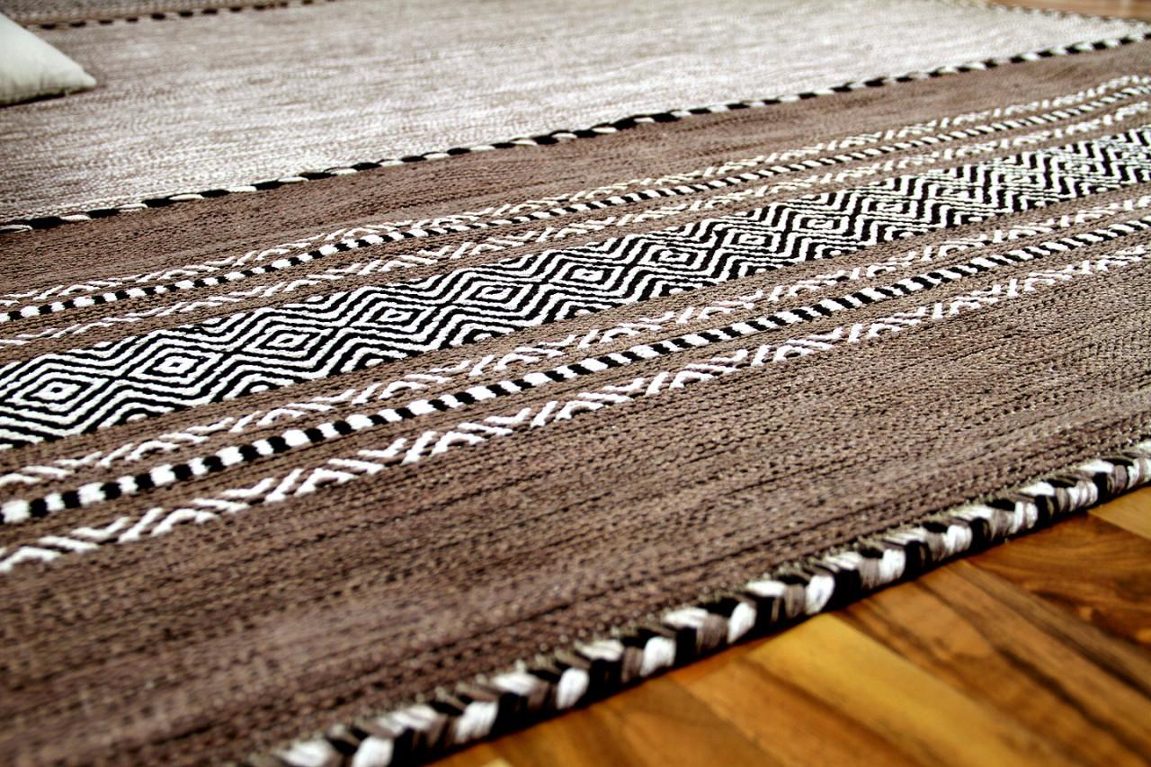 natur teppich kelim navarro beige braun teppiche nepal. Black Bedroom Furniture Sets. Home Design Ideas