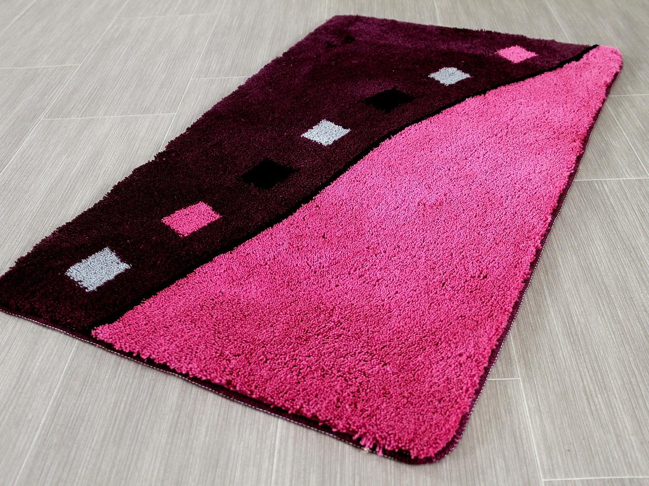 pacific badteppich rhodos purple rosa in 5 gr en badteppiche pacific badteppiche. Black Bedroom Furniture Sets. Home Design Ideas