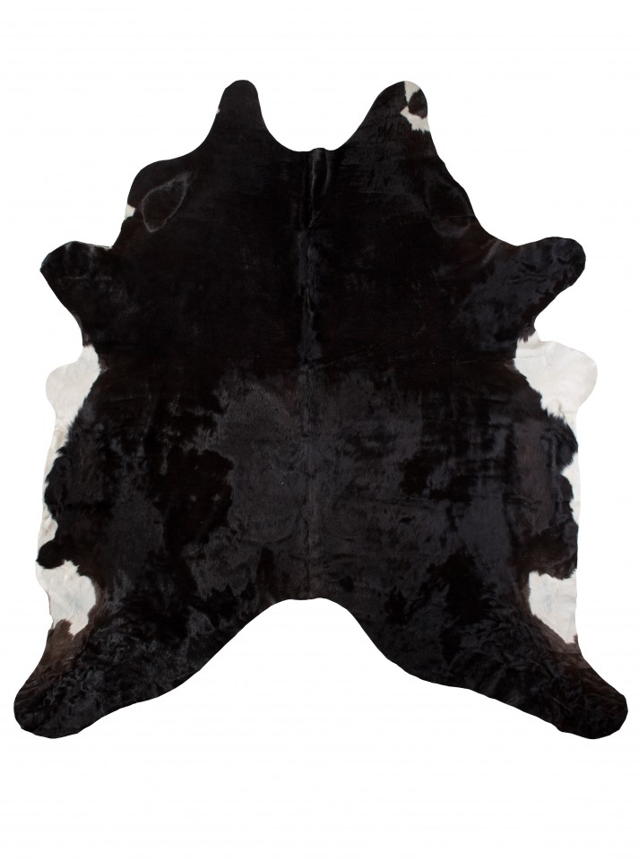 fell teppich echtes rinderfell schwarz gemustert felle echte rinderfelle. Black Bedroom Furniture Sets. Home Design Ideas