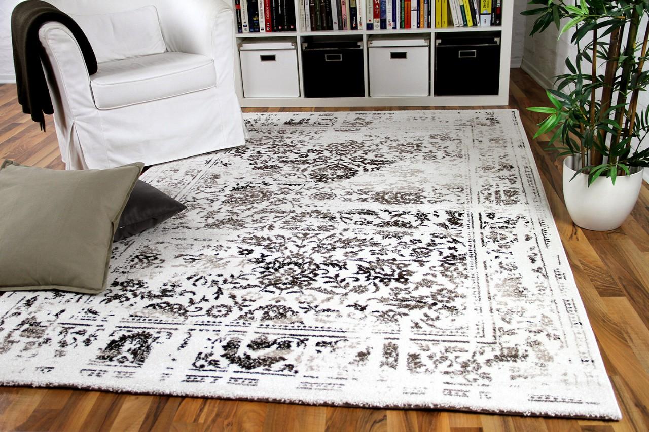designer gabbeh teppich vintage orient creme anthrazit teppiche nepal gabbeh und kelim teppiche. Black Bedroom Furniture Sets. Home Design Ideas