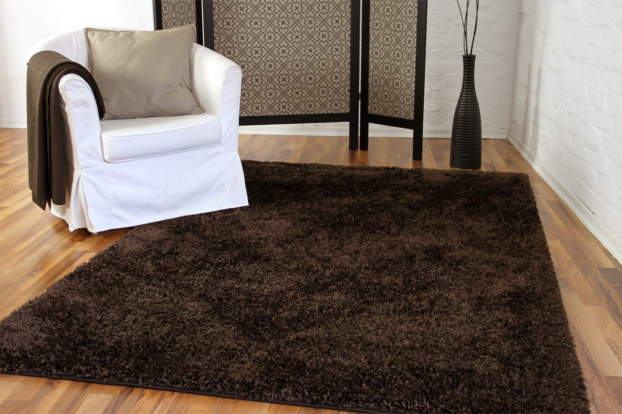 hochflor langflor shaggy teppich elegance braun teppiche hochflor langflor teppiche braun und choco. Black Bedroom Furniture Sets. Home Design Ideas