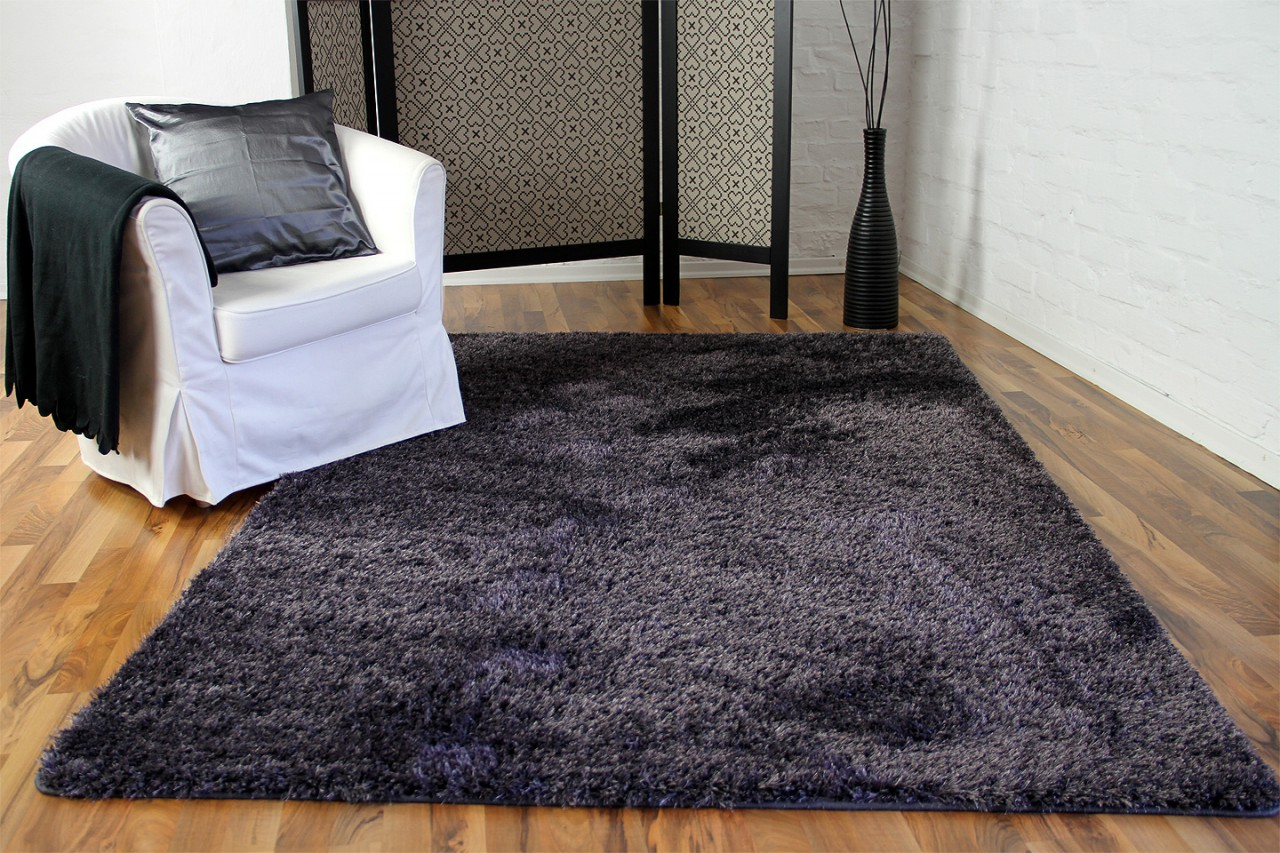 hochflor langflor shaggy teppich elegance blau lila teppiche hochflor langflor teppiche gr n und. Black Bedroom Furniture Sets. Home Design Ideas