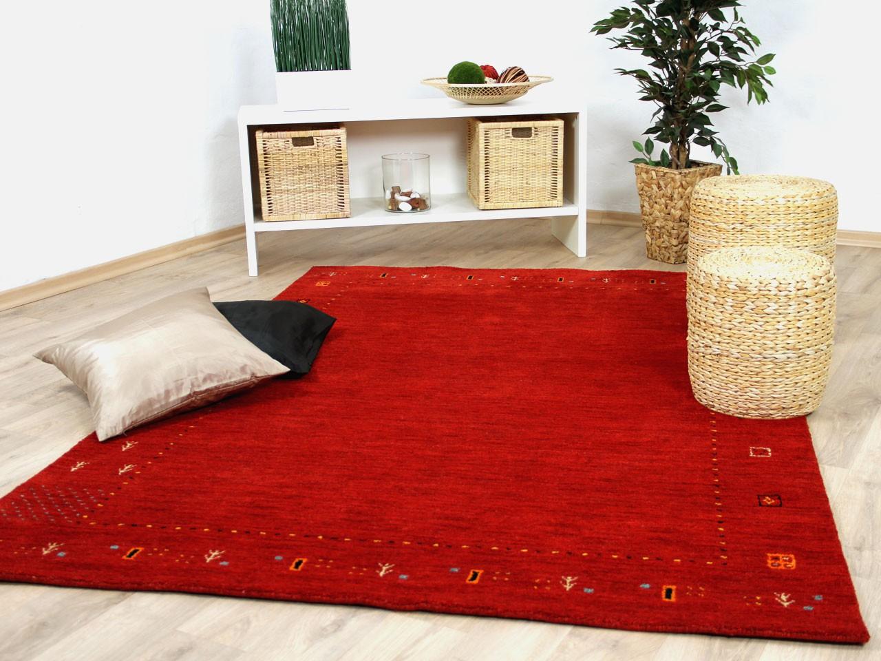 natur teppich indo gabbeh indira rot teppiche nepal gabbeh und kelim teppiche indo gabbeh teppiche. Black Bedroom Furniture Sets. Home Design Ideas
