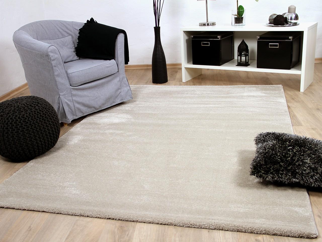luxus soft velours teppich gala beige teppiche. Black Bedroom Furniture Sets. Home Design Ideas
