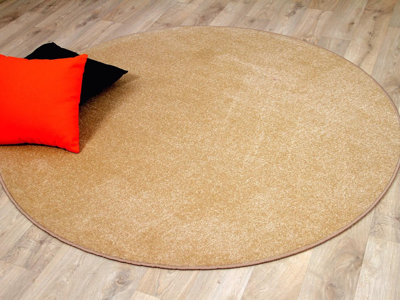 trend velours teppich joy beige rund sonderaktion. Black Bedroom Furniture Sets. Home Design Ideas