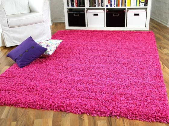 Hochflor Langflor Shaggy Teppiche in Pink,Lila und Rosa