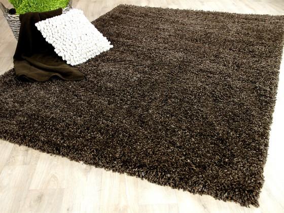 hochflor langflor shaggy teppiche in braun und choco