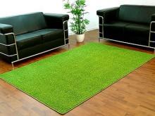 hochflor shaggy teppich prestige lindgr n rund in 7 gr en teppiche hochflor langflor teppiche. Black Bedroom Furniture Sets. Home Design Ideas