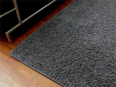 teppich hochflor shaggy prestige anthrazit in 22 gr en teppiche hochflor langflor teppiche. Black Bedroom Furniture Sets. Home Design Ideas
