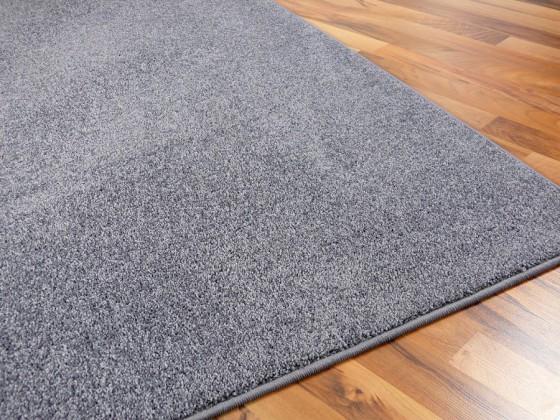 hochflor velours teppich triumph grau in 24 gr en. Black Bedroom Furniture Sets. Home Design Ideas
