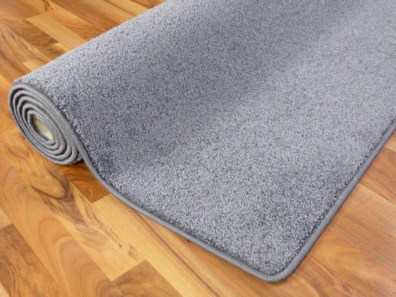 hochflor velours teppich triumph grau in 24 gr en teppiche hochflor langflor teppiche schwarz. Black Bedroom Furniture Sets. Home Design Ideas