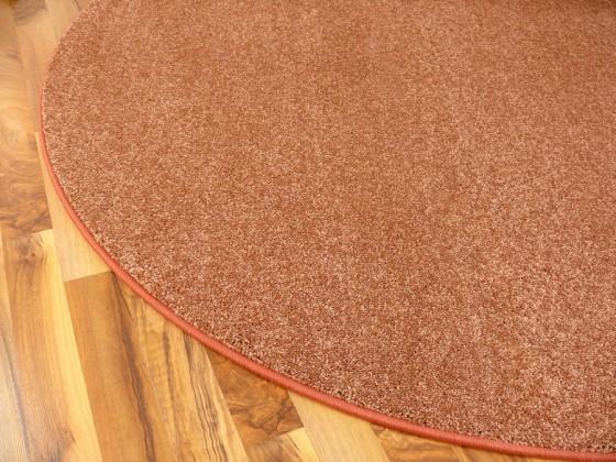 hochflor velours teppich triumph terrakotta rund in 7 gr en teppiche hochflor langflor teppiche. Black Bedroom Furniture Sets. Home Design Ideas