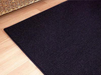 sisal natur teppich dekowe anthrazit in 24 gr en teppiche sisal und naturteppiche sisal. Black Bedroom Furniture Sets. Home Design Ideas