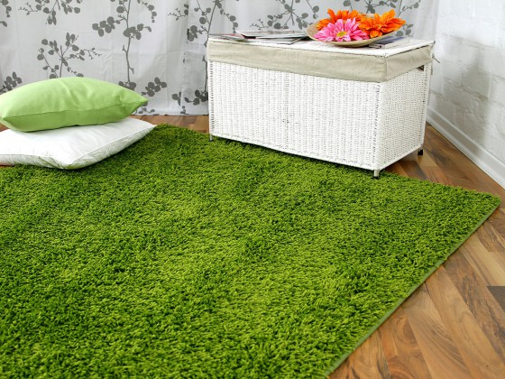 hochflor langflor teppich shaggy nova gr n sonderaktion sonderposten hochflor langflor. Black Bedroom Furniture Sets. Home Design Ideas