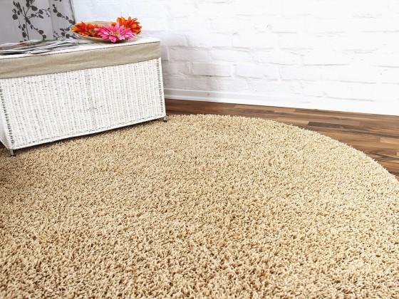 hochflor langflor teppich shaggy nova beige rund sonderaktion sonderposten hochflor langflor. Black Bedroom Furniture Sets. Home Design Ideas