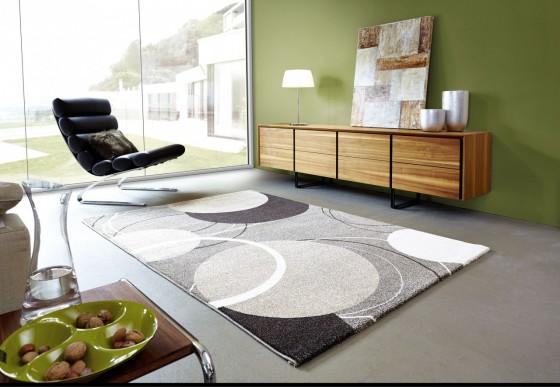 teppich trendline beige braun kreise innenr ume und m bel ideen. Black Bedroom Furniture Sets. Home Design Ideas