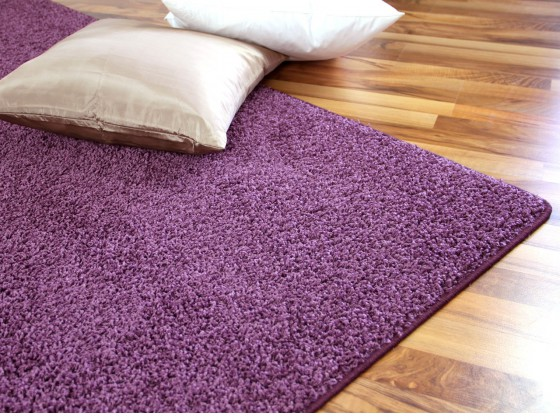 hochflor shaggy teppich prestige flieder abverkauf. Black Bedroom Furniture Sets. Home Design Ideas