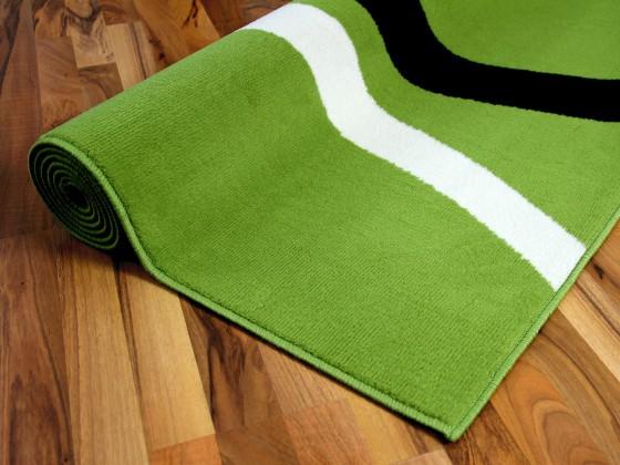 Teppich Trendline Grün Kreise in 4 Größen Teppiche