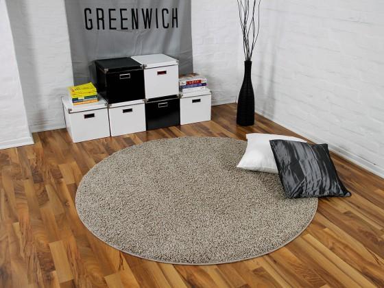 hochflor langflor shaggy teppiche in weiss creme und vanille. Black Bedroom Furniture Sets. Home Design Ideas