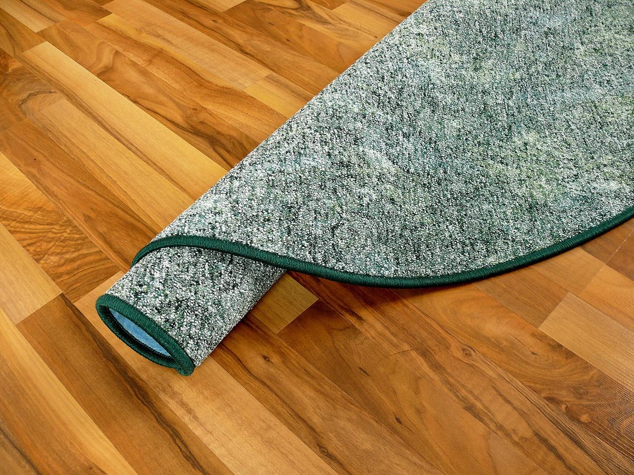 schlingen teppich memory gr n meliert rund in 7 gr en teppiche schlingenteppiche. Black Bedroom Furniture Sets. Home Design Ideas