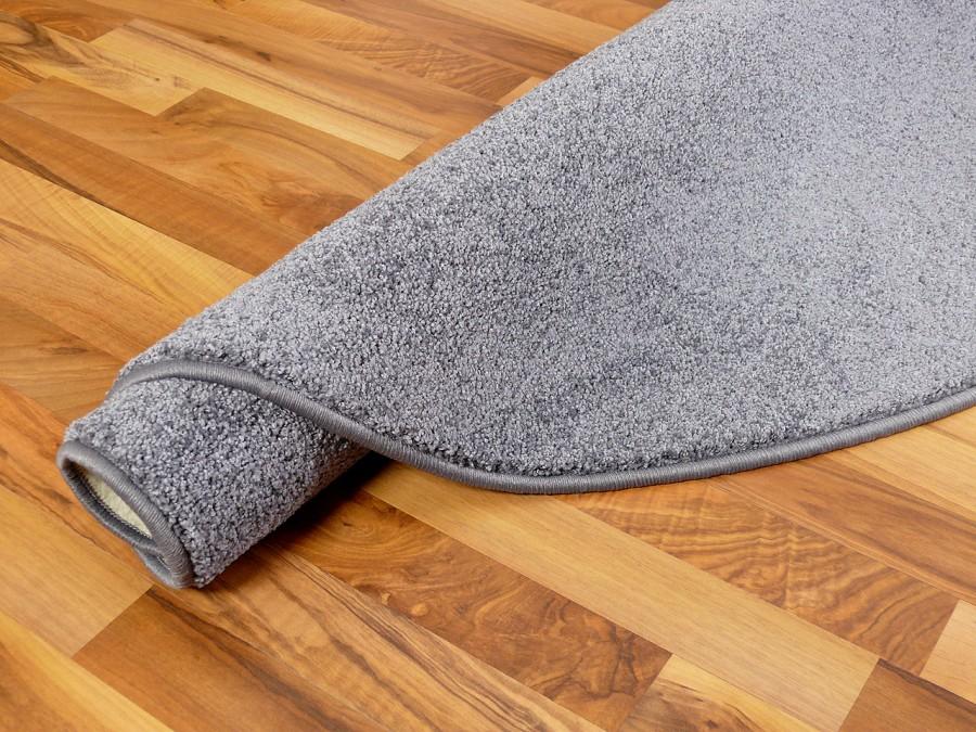 teppich rund grau hochflor haus deko ideen. Black Bedroom Furniture Sets. Home Design Ideas