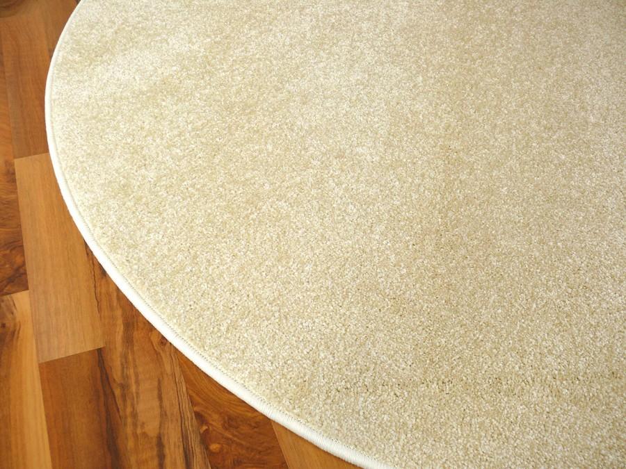 hochflor velours teppich triumph creme rund in 7 gr en teppiche hochflor langflor teppiche wei. Black Bedroom Furniture Sets. Home Design Ideas
