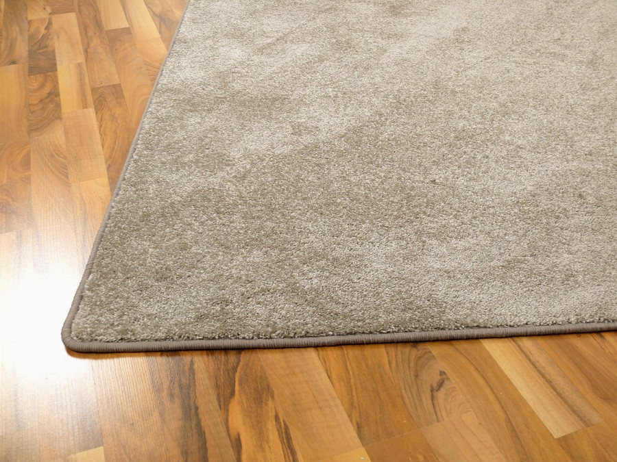 Hochflor Velours Teppich Triumph Taupe in 24 Größen ...