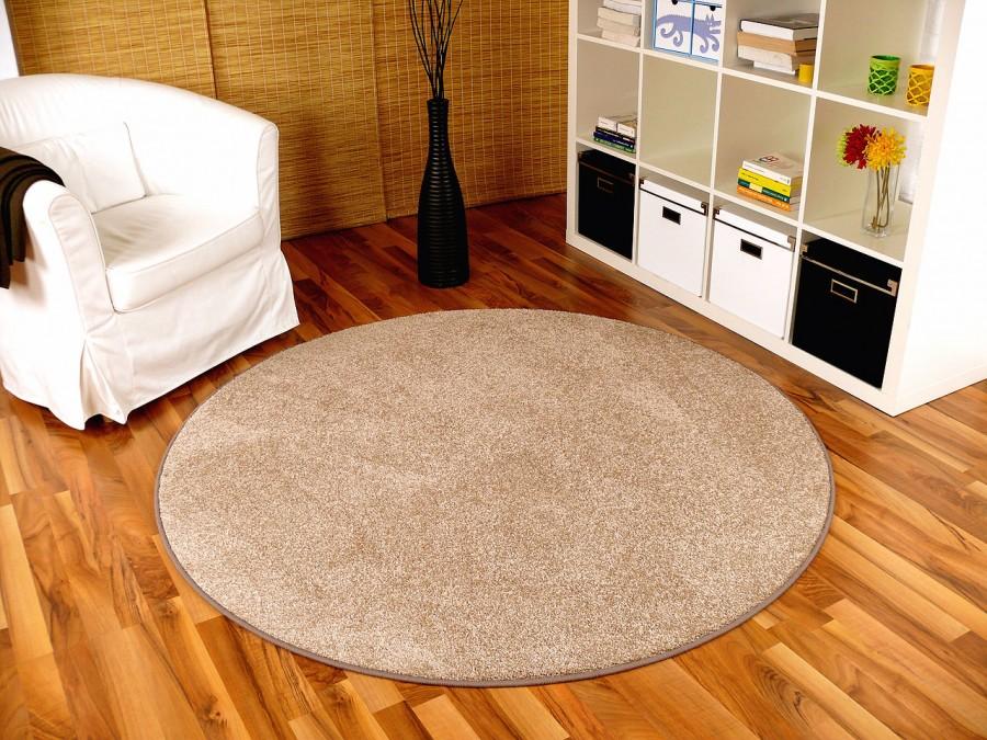 teppich rund beige. Black Bedroom Furniture Sets. Home Design Ideas