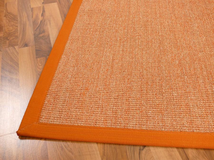 sisal astra natur teppich orange bord re orange teppiche sisal und naturteppiche sisal teppiche. Black Bedroom Furniture Sets. Home Design Ideas