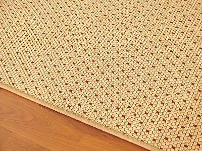 teppich bentzon flachgewebe beige rot trend abverkauf teppiche sisal und naturteppiche bentzon. Black Bedroom Furniture Sets. Home Design Ideas