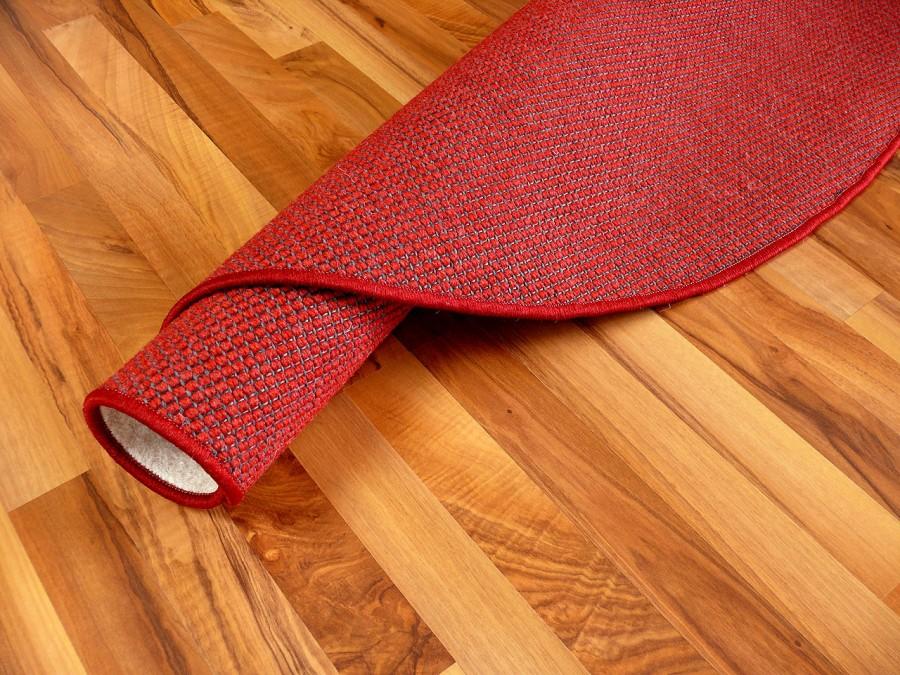 Teppich Rot Rund ~ CARPROLA for