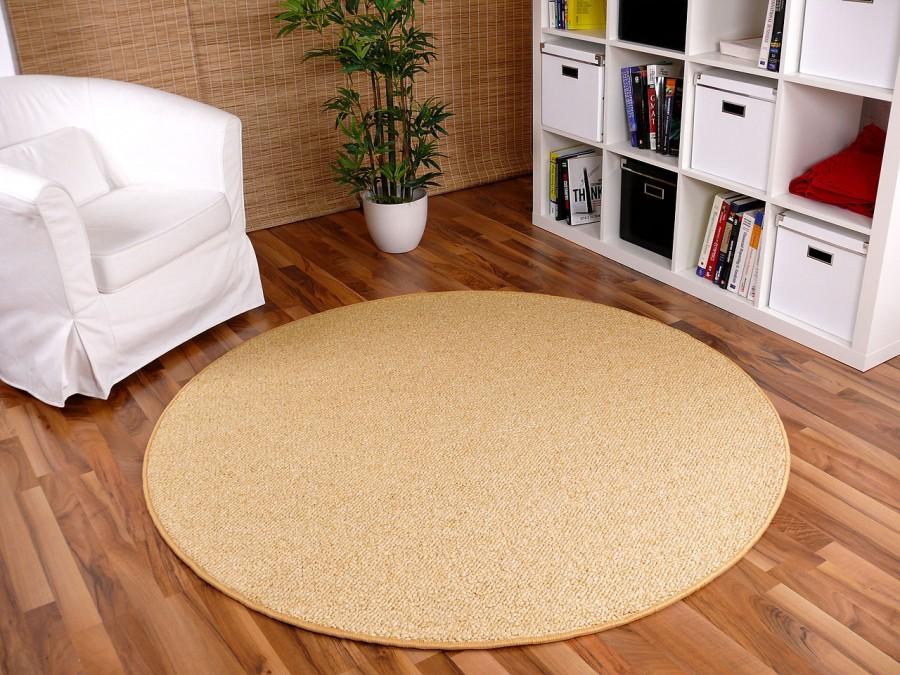 Berber Teppich Rund : berber natur teppich wolle malta honig rund abverkauf teppiche sisal und naturteppiche berber ~ Indierocktalk.com Haus und Dekorationen