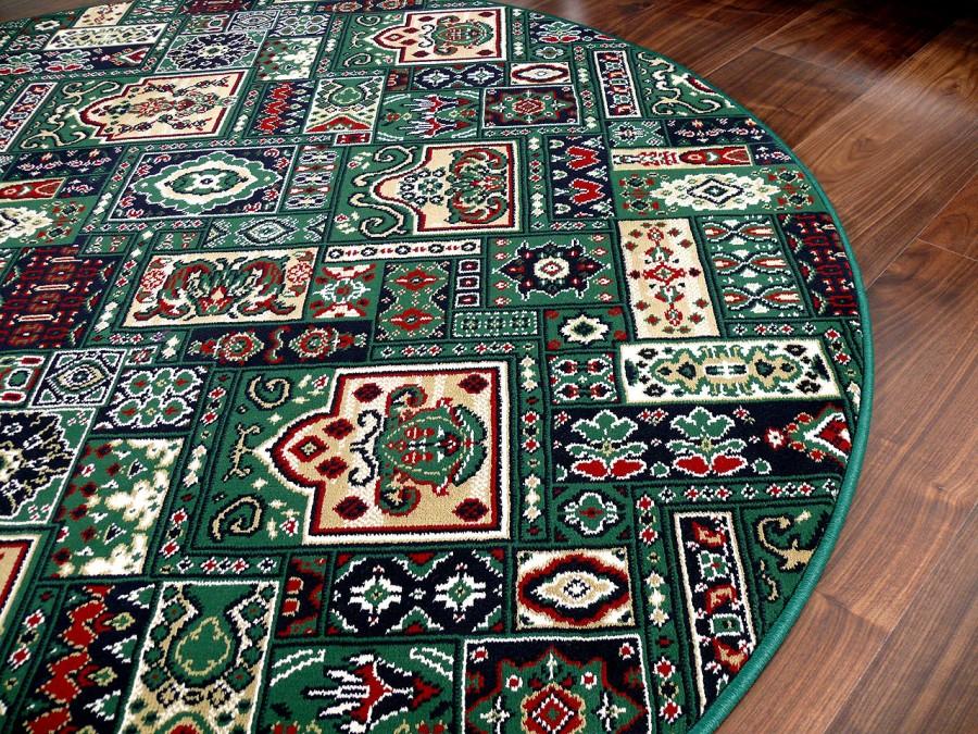 orient teppich empire gr n rund in 7 gr en teppiche. Black Bedroom Furniture Sets. Home Design Ideas