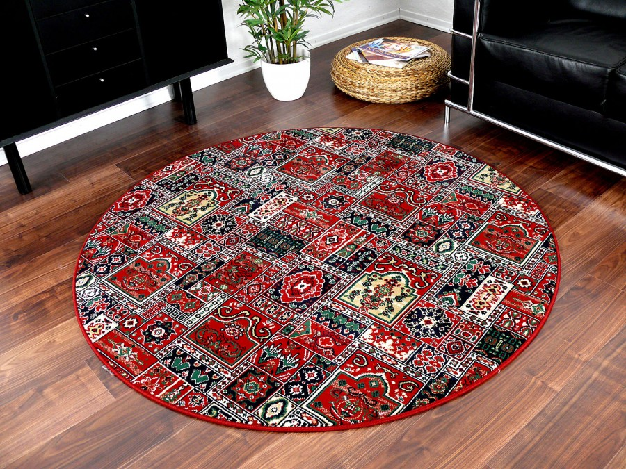 orient teppich empire rot rund in 7 gr en teppiche. Black Bedroom Furniture Sets. Home Design Ideas