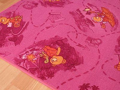 kinder spiel teppich rosa b r abverkauf teppiche kinder und spielteppiche snapstyle. Black Bedroom Furniture Sets. Home Design Ideas