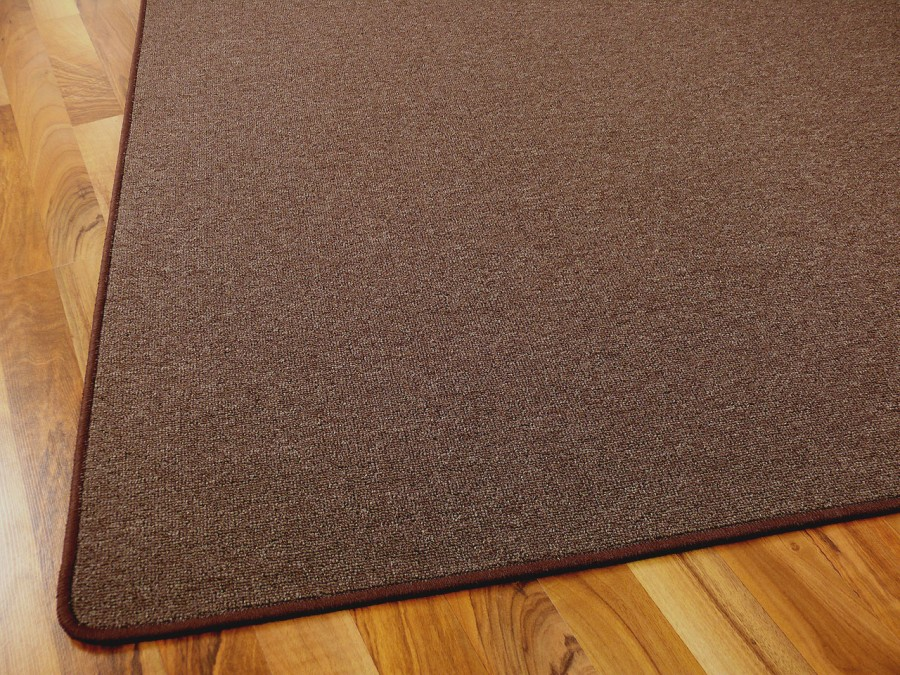 feinschlingen velour teppich strong dunkelbraun in 24 gr en teppiche schlingenteppiche. Black Bedroom Furniture Sets. Home Design Ideas